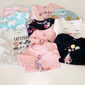 Old Navy/Carter's Baby Girl 6mo Bundle/Lot